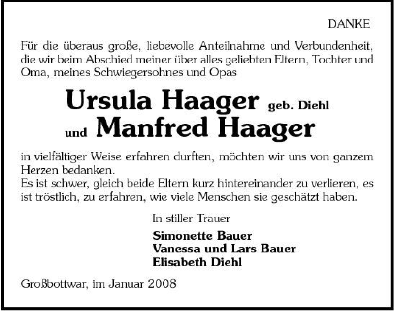haager stimme