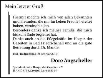 Zur Gedenkseite von Dore