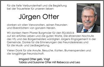 Traueranzeige von Jürgen Otter von GESAMT